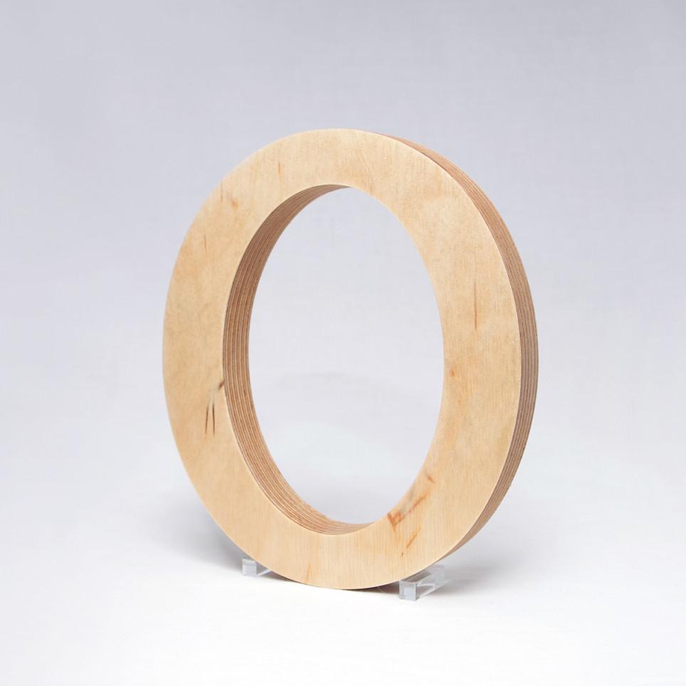 O dřevěné písmeno