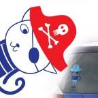 Pirát v autě