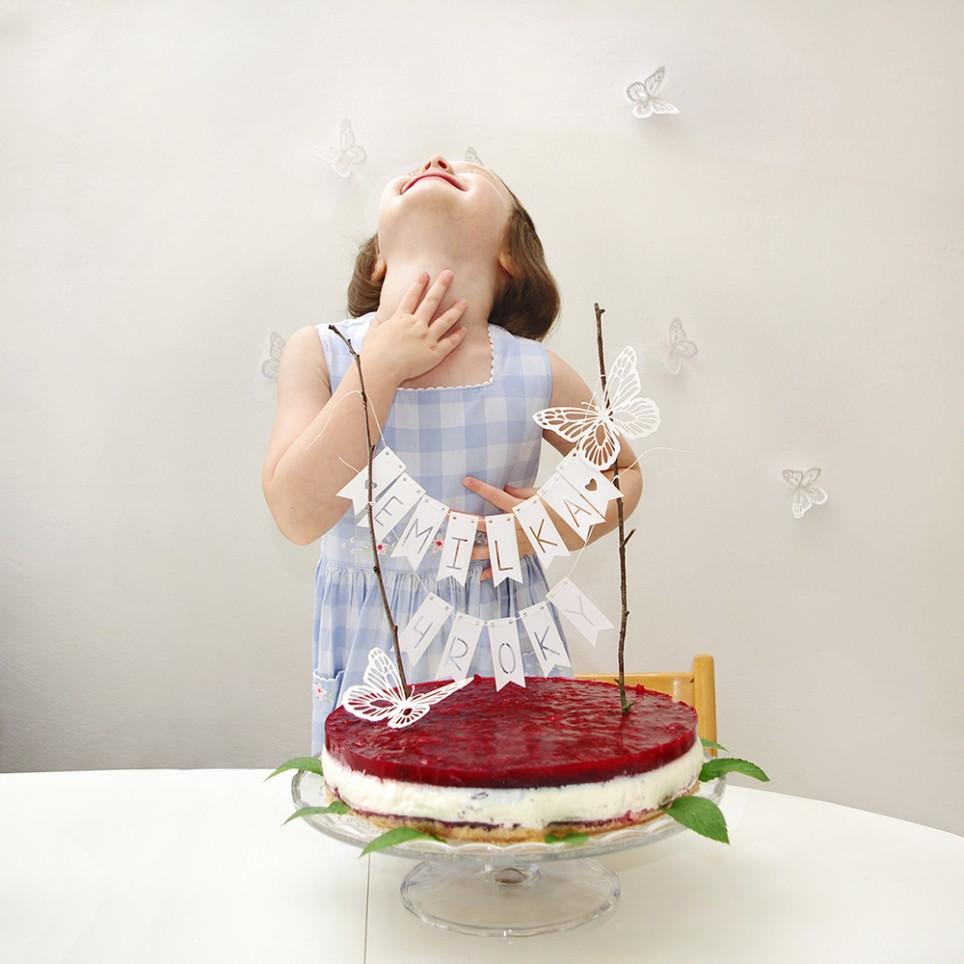 VLAJEČKOVÁ GIRLANDA na dort