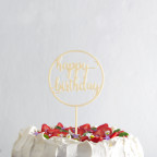 HAPPY BIRTHDAY 02 zápich na dort