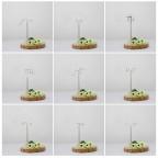 ČÍSLICE SLOVEM zápich na dort