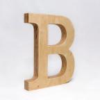 B dřevěné písmeno