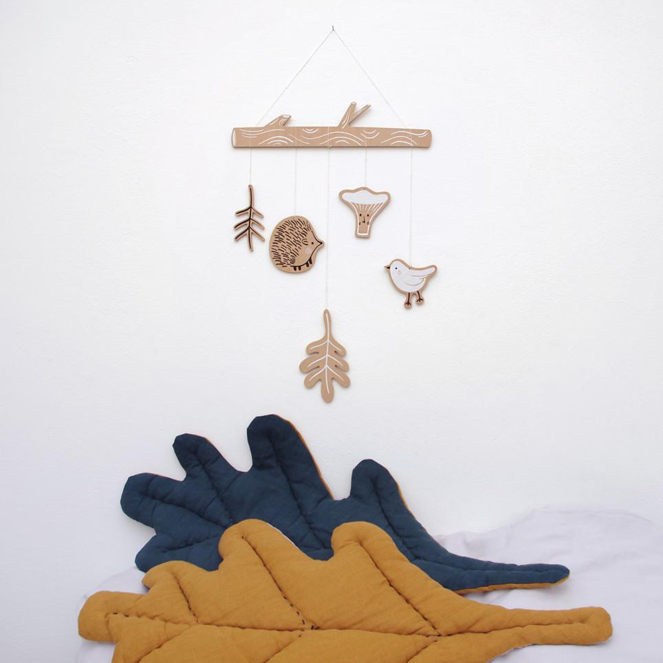 Ježci - závěsná dekorace
