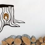 Pařez a ježeček