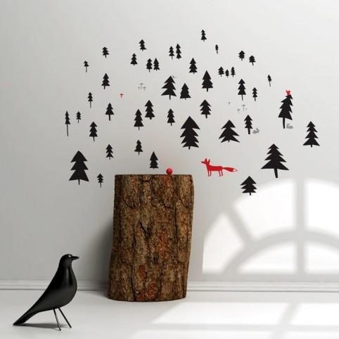 v lesíku