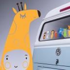 """žirafa"" ZOO v autě"