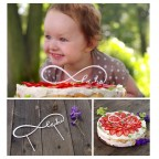 NEKONEČNÁ LÁSKA zápich na dort